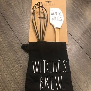 Rae Dunn witches' brew magic spells set